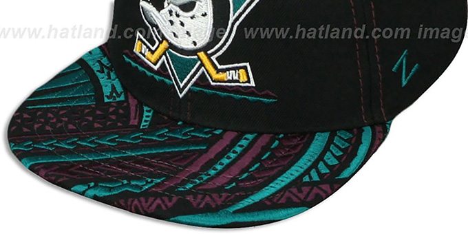 Mighty Ducks 'KONA SNAPBACK' Hat by Zephyr
