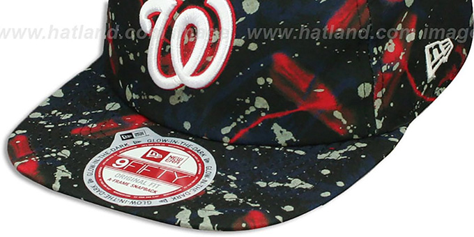 Nationals 'GLOWSPECK SNAPBACK' Hat by New Era