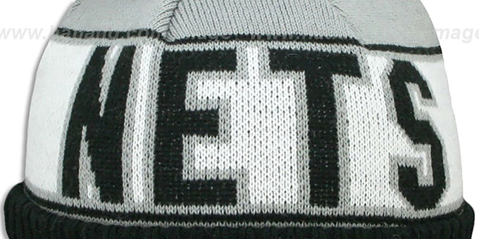 Nets WILLIAMS 'REP-UR-TEAM' Knit Beanie Hat by New Era