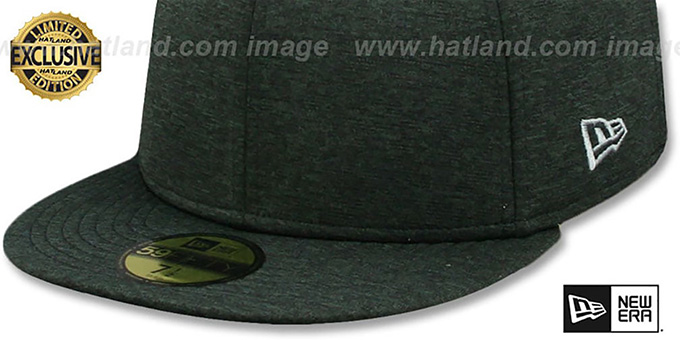 New Era '59FIFTY-BLANK' Black Shadow Tech Fitted Hat