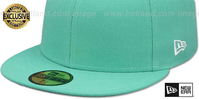 New Era '59FIFTY-BLANK' Mint Fitted Hat