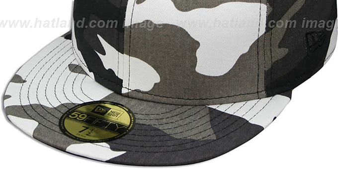 New Era '59FIFTY-BLANK' Urban Camo Fitted Hat