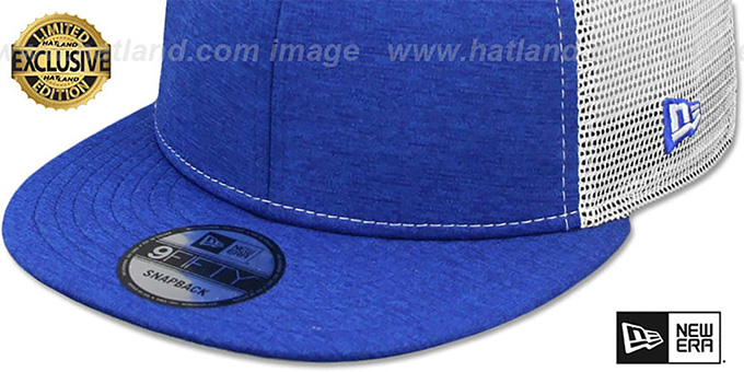 9f3ad685af5 ... New Era  MESH-BACK BLANK SNAPBACK  Royal Shadow Tech-White Adjustable  Hat