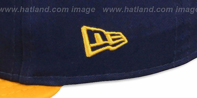 Nuggets 'CHALK-UP HERO SNAPBACK' Navy-Gold Hat by New Era