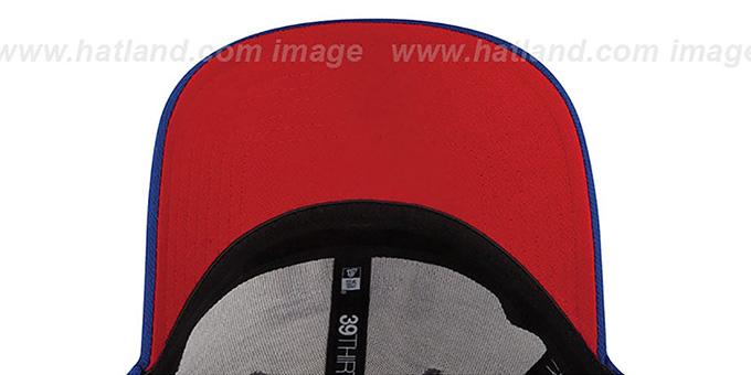New York NY Giants 2014 NFL DRAFT FLEX Royal Hat by New Era f9240009d