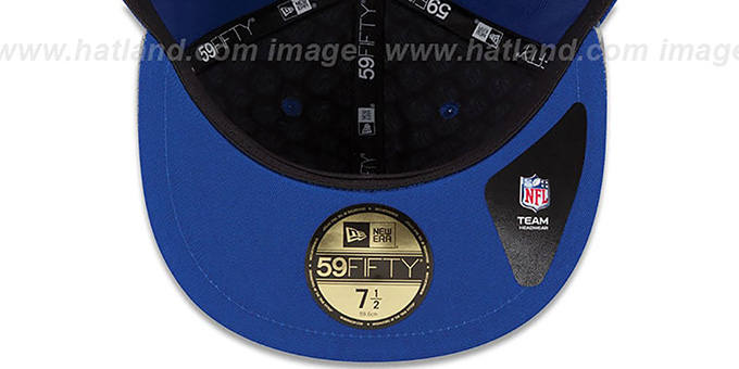 ... NY Giants  2014 NFL DRAFT  Royal Fitted Hat by New Era 004712f9c