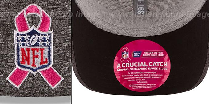 f7e43041010 New York NY Giants 2016 BCA FLEX Grey-Grey Hat by New Era