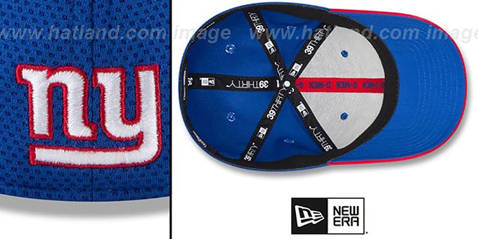 NY Giants '2018 SPOTLIGHT FLEX' Royal-Red Hat by New Era