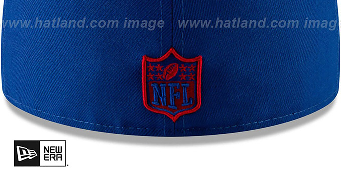 NY Giants 'METAL-N-THREAD' Royal Fitted Hat by New Era