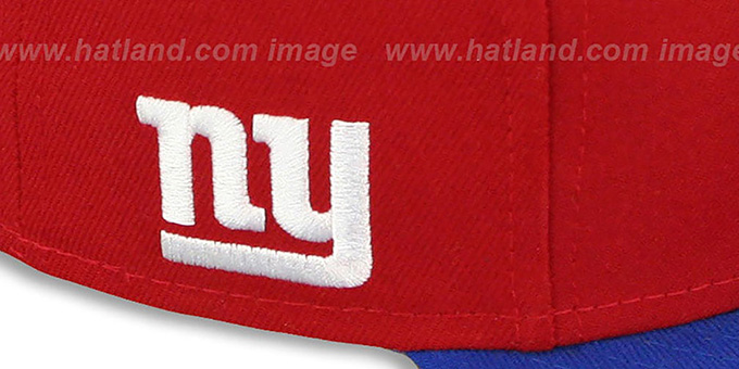 NY Giants 'NFL-TIGHT' Red-Royal Fitted Hat by New Era