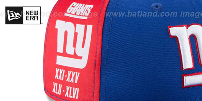 NY Giants 'PANEL PRIDE SNAPBACK' Hat by New Era