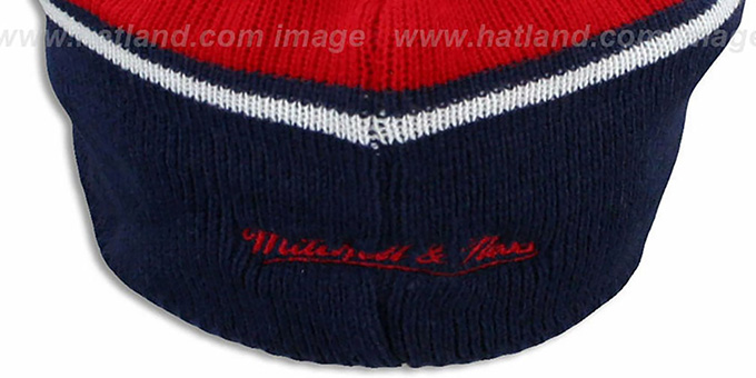 NY Giants 'RERUN KNIT BEANIE' by Mitchell and Ness