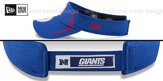 71a520db767 New York NY Giants SPEED-VISOR Royal by New Era