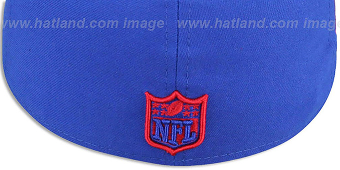 650230153d6 ... NY Giants  SUPER BOWL XXV  Royal-Red Fitted Hat by New Era