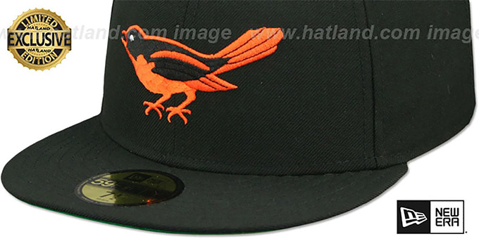Orioles '1954 COOPERSTOWN' Fitted Hat by New Era