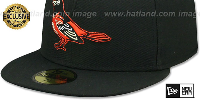 Orioles '1999-2008 HOME COOPERSTOWN' Fitted Hat by New Era