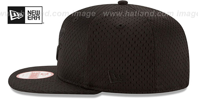 Orioles 'JERSEY MESH TONAL SNAPBACK' Black Hat by New Era