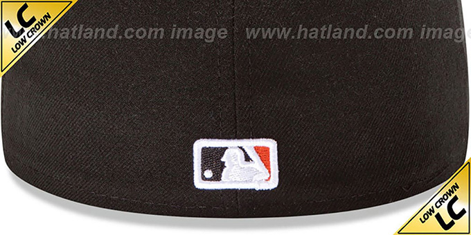 Orioles 'LOW-CROWN' HOME Fitted Hat by New Era