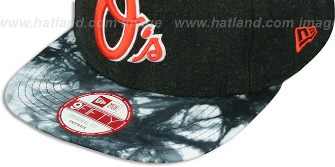 Orioles 'ZONE-VIZE SNAPBACK' Black Hat by New Era