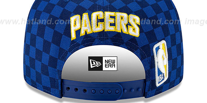 Pacers 19-20 'CITY-SERIES' ALTERNATE SNAPBACK Royal Hat by New Era
