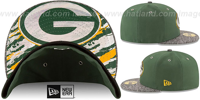 Packers '2016 NFL DRAFT' Fitted Hat by New Era