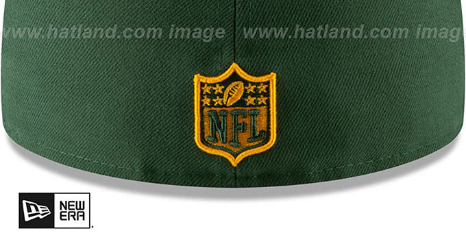 Packers 'METAL-N-THREAD' Green Fitted Hat by New Era
