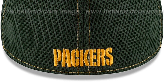 Packers 'REALTREE NEO MESH-BACK' Flex Hat by New Era