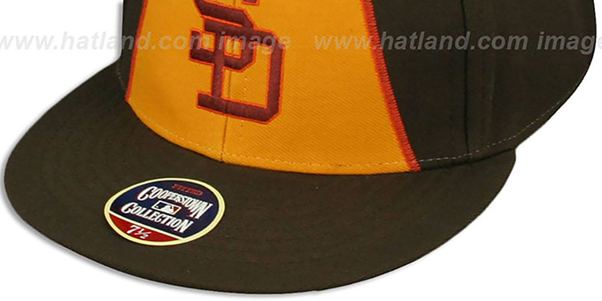 Padres '1984 COOPERSTOWN ' Fitted Hat by Twins 47 Brand