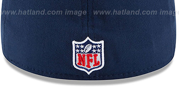 Patriots '2015 NFL STADIUM FLEX' Navy-Grey Hat by New Era
