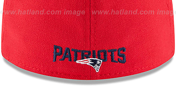 Patriots '2015 NFL STADIUM FLEX' Red-Navy Hat by New Era