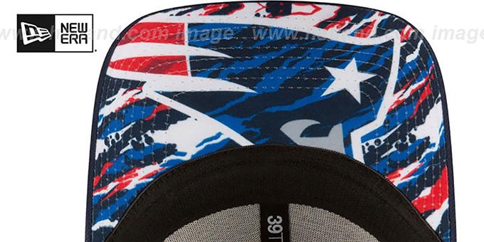 6b350b00 New England Patriots 2016 NFL DRAFT FLEX Hat by New Era