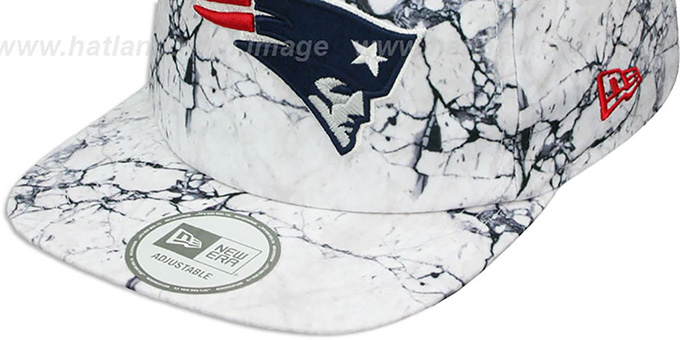 Patriots 'MARBLE MIX SNAPBACK' Hat by New Era