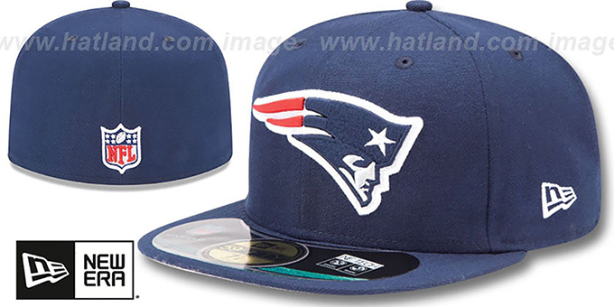Patriots 'NFL BCA' Navy Fitted Hat by New Era