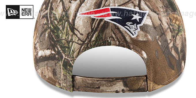 Patriots 'THE LEAGUE REALTREE' Strapback Hat by New Era
