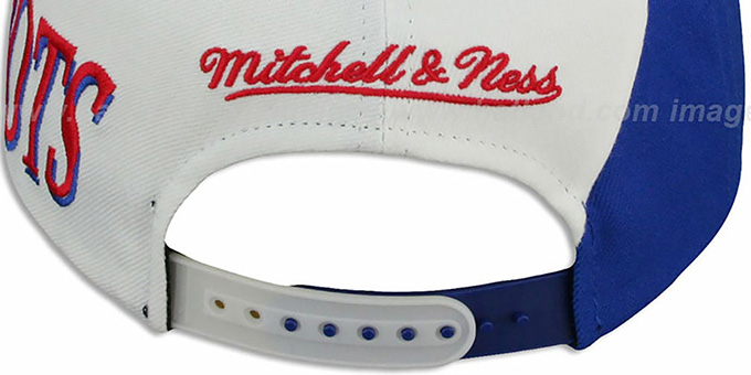 Patriots 'THE SKEW SNAPBACK' Hat by Mitchell & Ness
