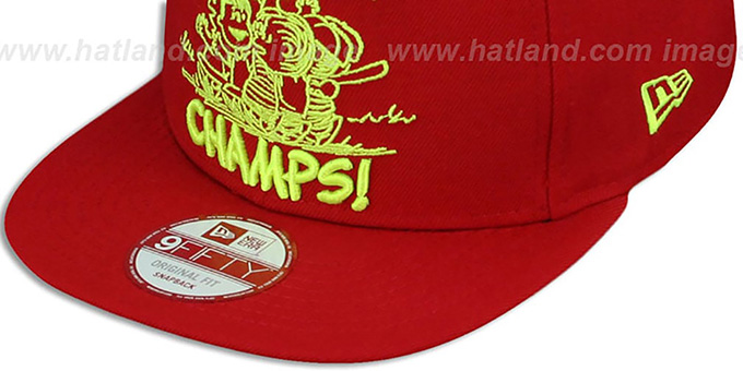 Peanuts 'PENNANT VICTOR SNAPBACK' Red Hat by New Era
