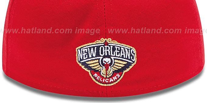 Pelicans 'PRIMARY TEAM-BASIC' Red Hat by New Era