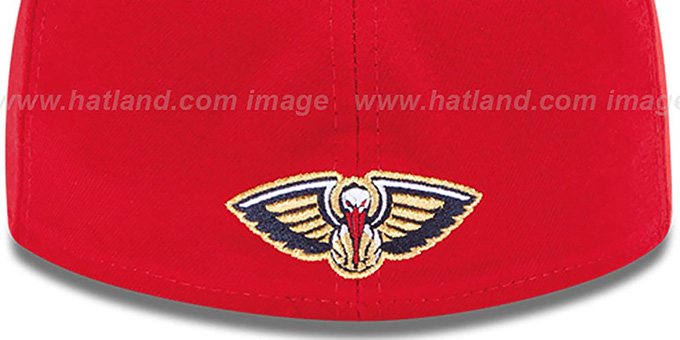 Pelicans 'SECONDARY TEAM-BASIC' Red Hat by New Era