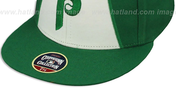 Phillies '1981 COOPERSTOWN ST PATS' Fitted Hat by Twins 47 Brand