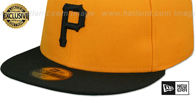 Pirates '1970-75 COOPERSTOWN GAME' Fitted Hat by New Era