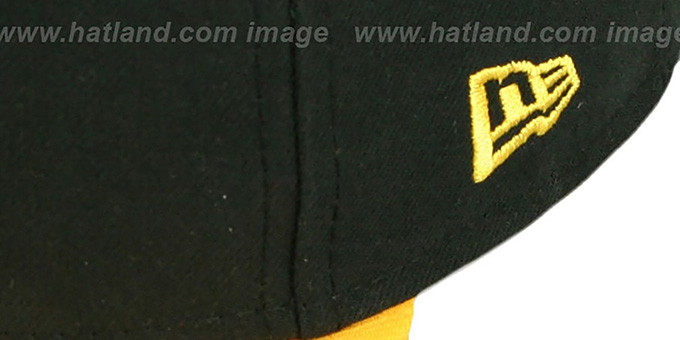 Pirates 'BAYCIK' Black-Gold Fitted Hat by New Era