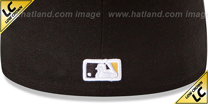 Pirates 'LOW-CROWN' HOME Fitted Hat by New Era
