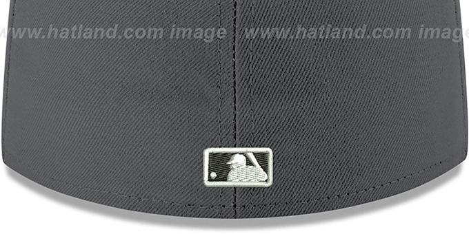 Pirates 'SHADER MELT-2' Grey-Gold Fitted Hat by New Era