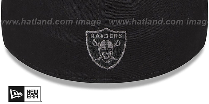 Raiders 'NEON SCRIPT FLEX' Black Hat by New Era