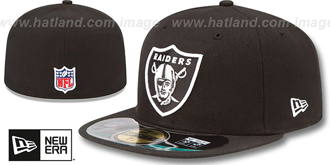 Raiders 'NFL BCA' Black Fitted Hat by New Era
