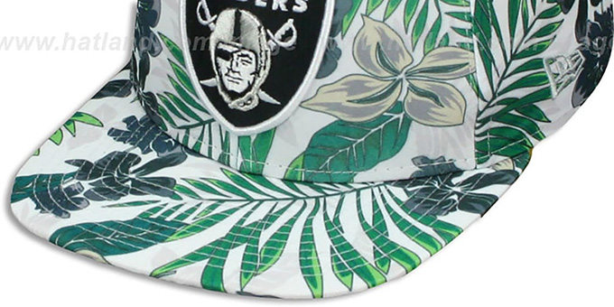 Raiders 'TROPTRIP BLOOM SNAPBACK' Hat by New Era