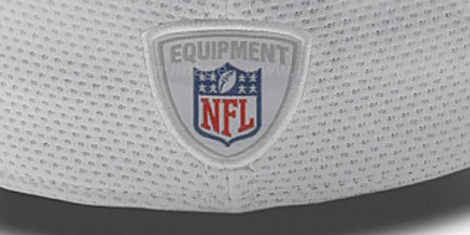 Rams 'NFL TRAINING FLEX' White Hat by New Era