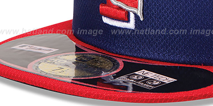 Rangers '2013 DIAMOND-TECH BP' Royal-Red Hat by New Era