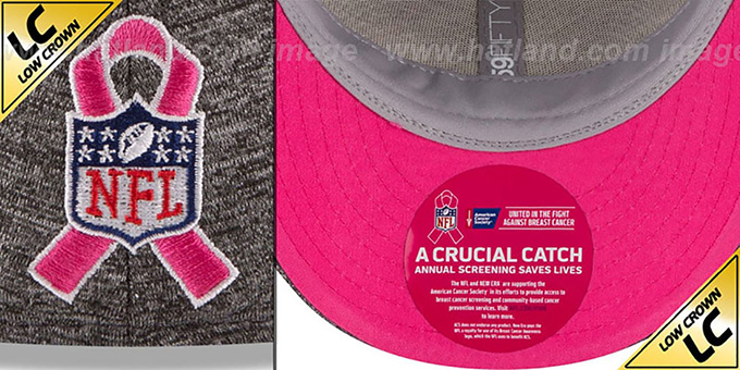 Ravens '2016 LOW-CROWN BCA' Grey Fitted Hat by New Era