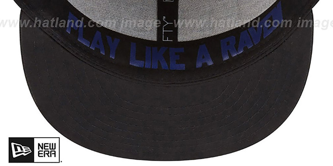 Ravens '2018 ONSTAGE SNAPBACK' Grey-Black Hat by New Era